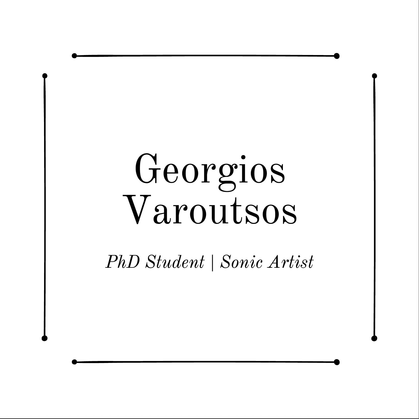 Georgios Varoutsos